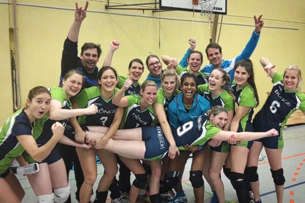 Wir betreuen das Handballteam
